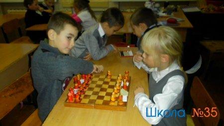 """Кружок """"Шахматная школа"""" в ГПД первых классов"""