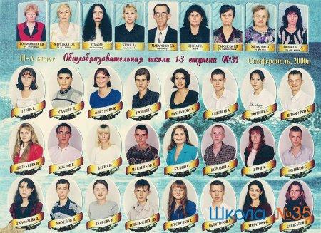 Выпуск 2000 года