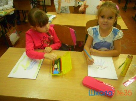 """Занятия в """"Школе будущих первоклассников"""""""