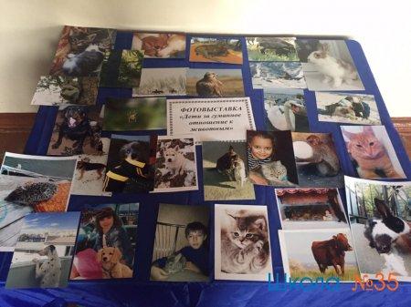 Дети за гуманное отношение к животным