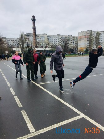 Военно-спортивная игра «Победа 2019»