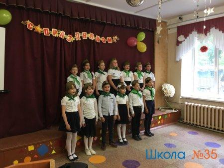 Концерт, посвященный празднику Победы.
