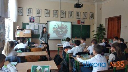 """Викторина в 6-х классах """"English time"""""""