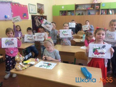 Занятия в школе будущих первоклассников