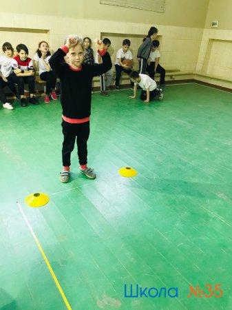 Зимнее первенство по прыжкам в длину в 3-а классе