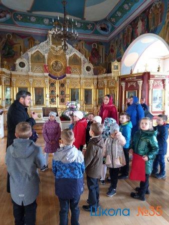 Историко-краеведческая экскурсия в храм Всех Святых.