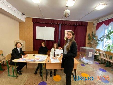Выборы президента ученического самоуправления.